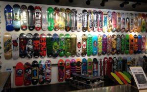 множество стилей доски на скейтборде