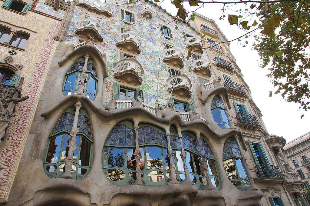 фасад Дома Бальо