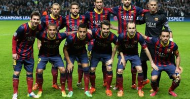 футбольная команда Барса