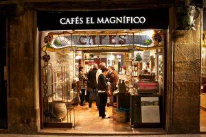 вход в кофейню café el magnífico