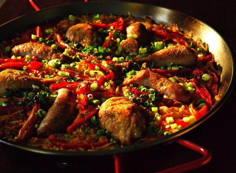 Как готовят паэлью в барселоне