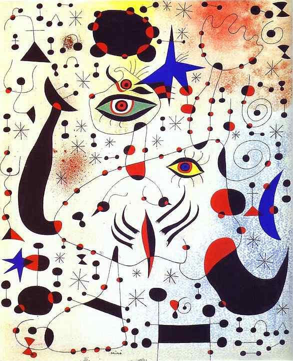 картина художника Жоан Миро