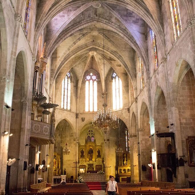 церковь Сан Жауме в Барселоне