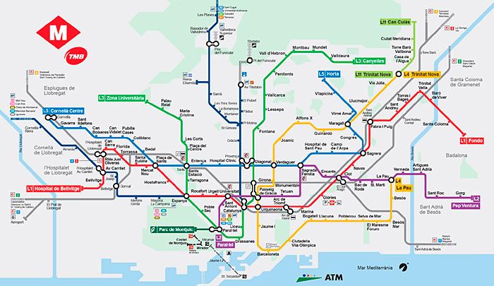 mapa bcn