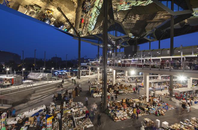 рынок Энкантс в Барселоне
