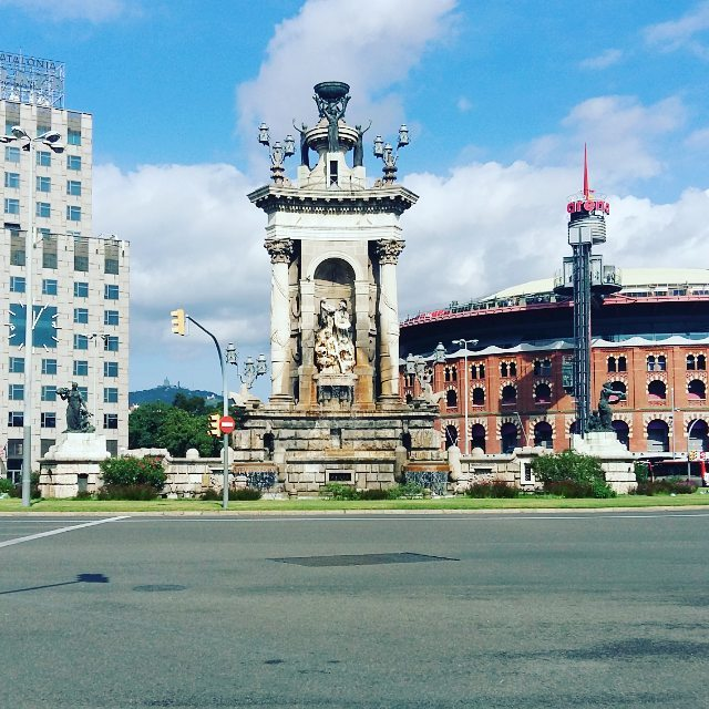 Plaza Espanya is a beautiful place for sure! shbarcelona bcnhellip