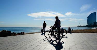 прогулка на велосипеде по Барселоне