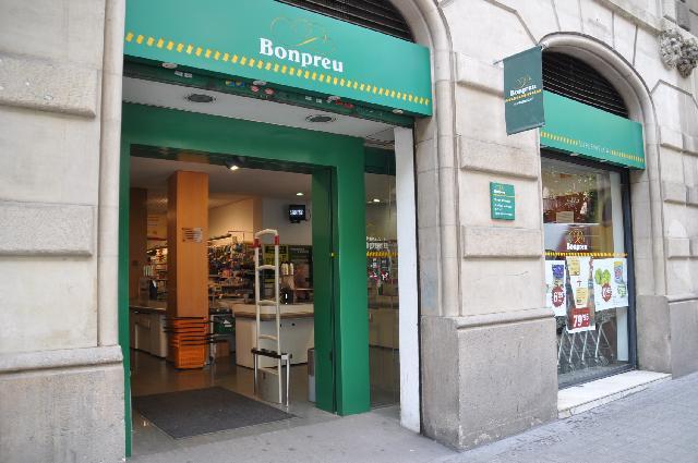 супермаркет Bon Preu в Барселоне