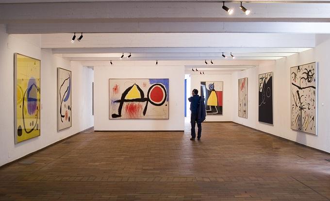 экспозиция в Фонде Жоана Миро в Барселоне