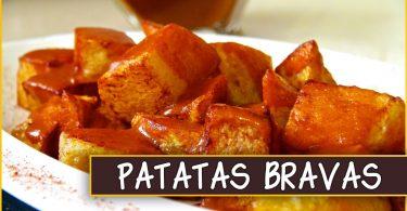 Как приготовить испанские patatas bravas, Как приготовить испанские patatas bravas, пататас бравас
