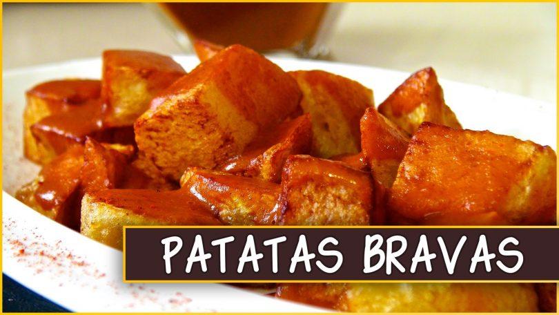 картошка с красным соусом
