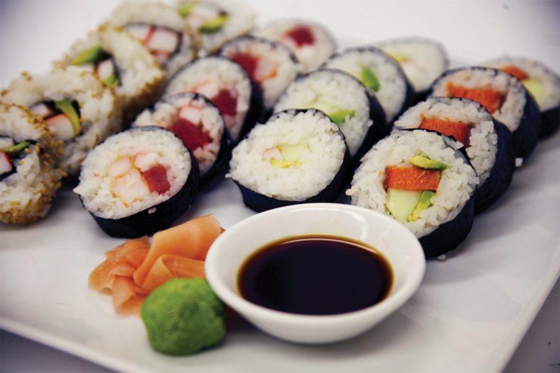 Лучшие суши в Барселоне