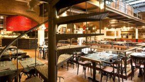 интерьер ресторана в Барселоне