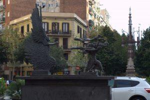 скульптура на ул Гауди