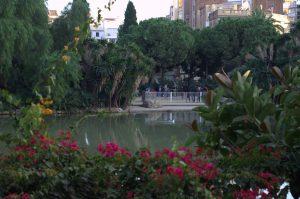 пруд возле Sagrada Familia