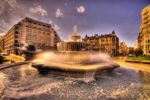 фонтан в Бильбао