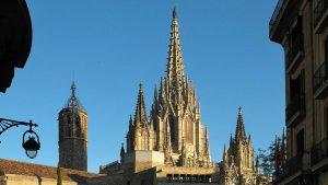 Готический собор в Барселоне
