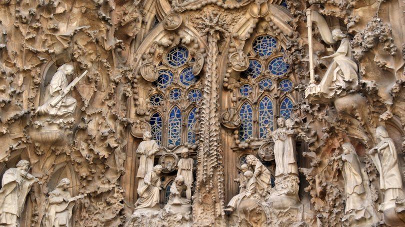 фасад Собора Святого Семейства