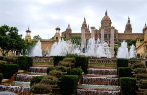 Национальный музей искусства Каталонии и фонтаны