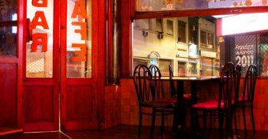 дизайн интерьера в баре в Барселоне