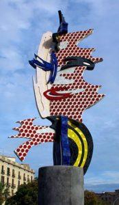 скульптура в Барселоне