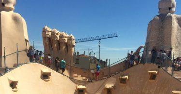 крыша Ла Педрера