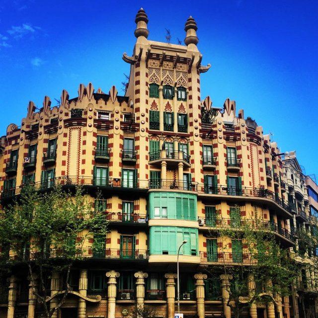 No me canso de contemplar la arquitectura de los edificioshellip