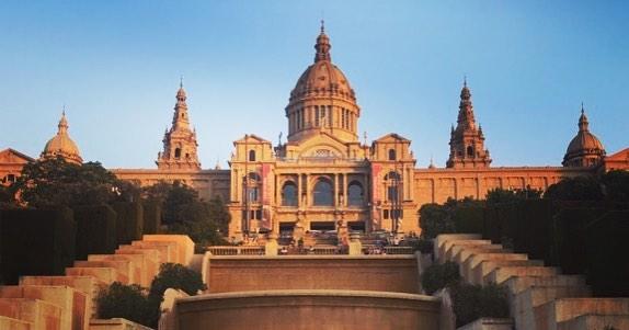 El museo de Arte Nacional de Catalua en Montjuc museohellip