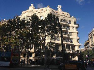 Дом Ла Педрера в Барселоне