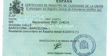 Идентификационный номер иностранца