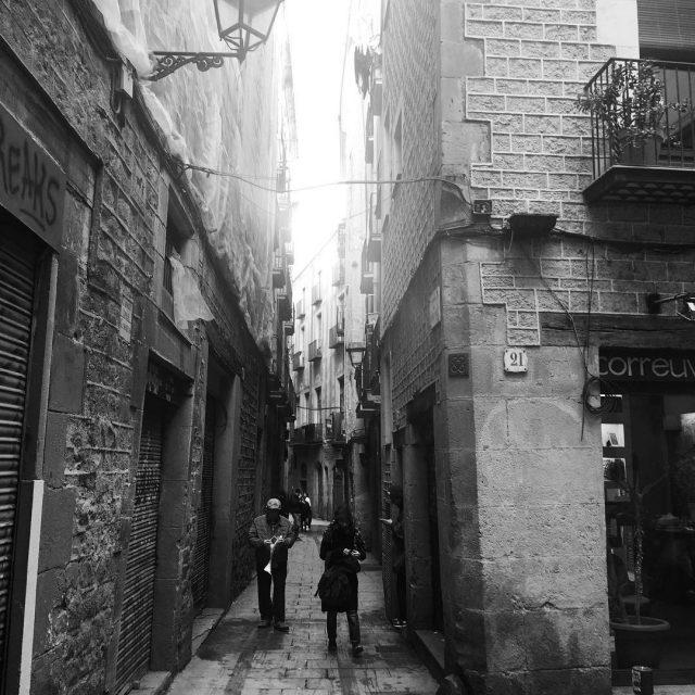 Barcelonas streets