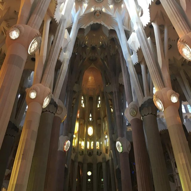 Did you know that the sagradafamilia is the most visitedhellip