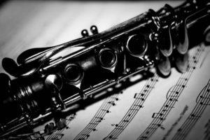 партитура и кларнет