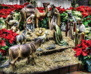 Рождественский вертеп в Барселоне