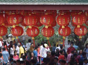 Китайский Новый Год в Барселоне