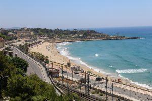 пляж, мыс и море