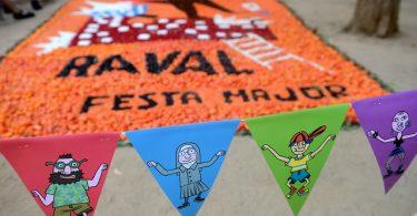 Раваль, главный праздник, fiesta mayor
