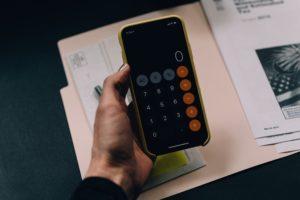 приложение калькулятор на телефоне
