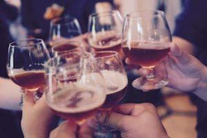несколько бокалов пива