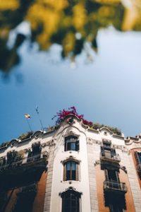 фасад здания Барселоны