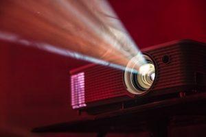 свет от проектора