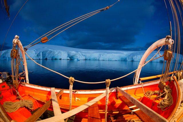 Антарктида с корабля