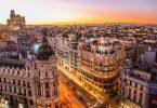 вид на Барселону с высоты птичьего полета